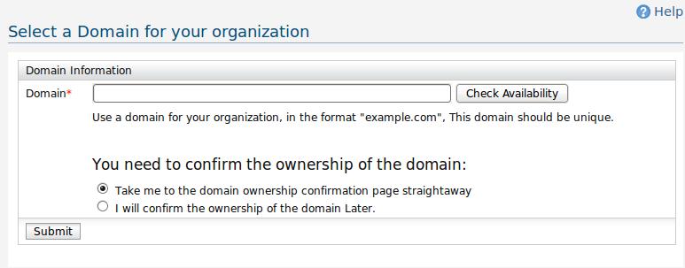Enter the domain